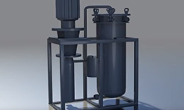 Integrated filtration of oil products